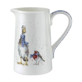 Wrendale All Wrapped Up Goose & Robin 1 Pint Jug